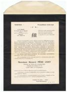 MONSIEUR HONORE PERE CENT 4 Em H  PROMOTION 1936  1940 - Documents
