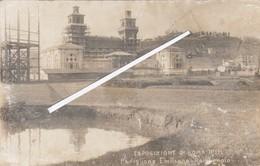 ROMA 1911  - VEDUTA-PADIGLIONE EMILIANO ROMAGNOLO -FOTO - Expositions