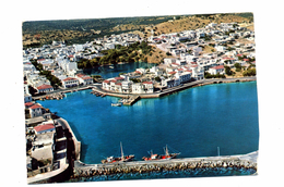 Lettre  Crete Aghios Nikolaos Flamme Muette Sur Europa - Grèce