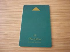 India Bangalore The Oberoi Hotel Room Key Card (green Version) - Hotelkarten