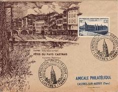 FR-L202 - FRANCE N° 781 Sur Lettre Exposition Philatélique Castres 1947 - Expositions Philatéliques