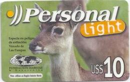 Argentina - Personal - Venado De Las Pampas, Deer Animal - GSM Refill, Used - Argentinien