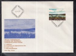 H 01 ) Finnland  1977 FDC Europa Cept -  Landschaften // Landscapes   // Free Shipping To - Europa-CEPT