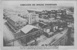 LA MADELEINE  LES LILLE / FABRICATION DES  NITRATES  SYNTHETIQUE LOT 1835 - La Madeleine