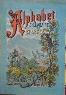 ALPHABET SYLLABAIRE DES CHASSES. Série A. Images épinal - Animaux