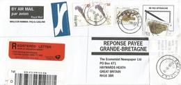 South Africa RSA 2000 Southdale 4 Meter Franking PO3.2. Olivetti ATM EMA FRAMA Barcoded Registered Cover - Frankeervignetten (Frama)