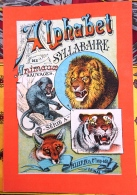 ALPHABET SYLLABAIRE DES ANIMAUX SAUVAGES. Série A. Images épinal - Livres Pour Enfants