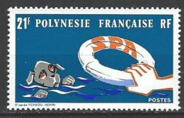 "Polynésie YT 96 "" Société Protectrice Des Animaux "" 1974 Neuf** - Unused Stamps"