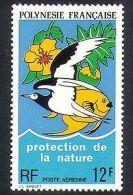 Polynesie, 1974, Nature Conservation, Fish, Bird, Oiseaux, MNH, Michel 184, French Polynesia - Polynésie Française