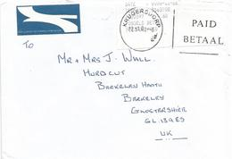 South Africa RSA 2000 Rantendaerp Krugersdorp Meter Franking PO3.2 Olivetti ATM EMA FRAMA Postage Paid Cover - Frankeervignetten (Frama)