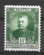 Monaco 1923 - Yv N° 65 ** - Prince Louis II (voir Scan) - Unused Stamps