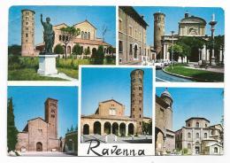 RAVENNA VEDUTE VIAGGIATA   FG - Ravenna