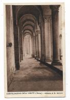 CASTELNUOVO DELL'ABATE ( SIENA  ) -- ABBAZIA DI S.ANTIMO  VIAGGIATA FP - Siena