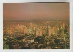 3 CPM CURITIBA (Brésil) - Vue Nocturne De La Ville, Passeio Publico, Faculté De Mèdecine Du Parana - Curitiba