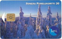 Finland - Sonera - Levi - 03.1999, 10.000ex, Used - Finnland