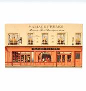 PARIS ... MARIAGE FRERES ... MAISON DE THE A PARIS  DEPUIS 1854 - District 04