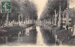 CPA 10 BAR SUR SEINE LE CANAL 1912 - Bar-sur-Seine