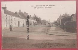 72 - CIRCUIT DE LA SARTHE----L'Arrivée A Connerre--animé - France
