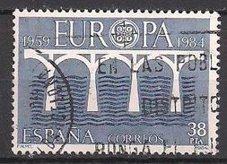 Spanien (1984)  Mi.Nr.  2634  Gest. / Used  (13fg10)  EUROPA - 1931-Heute: 2. Rep. - ... Juan Carlos I