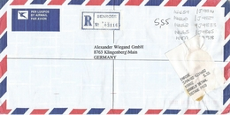 South Africa RSA 2002 Benrose Meter Franking PO3.2. Olivetti ATM EMA FRAMA Registered Cover - Frankeervignetten (Frama)