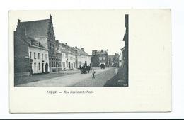 CPA THEUX Rue HOVEMONT POSTE Publicité Confiserie FIERENS Confiseur De La Cour - Theux