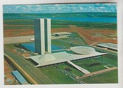 2 CPM BRASILIA (Brésil) - Edificio Do Congresso, Palacio Dio Ministerio Das Relacaes Exteriores - Brasilia