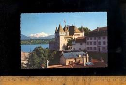 NYON Vaud : Le Château Et Le Mont Blanc  1974 - VD Vaud