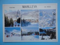 Marilleva - Mezzana - Trento - Val Di Sole - Vedutine Paesaggio Invernale - Trento