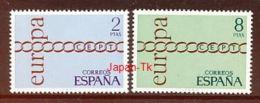 SPANIEN Mi.Nr.  1925-1926 Europa  - 1971- MNH - Europa-CEPT