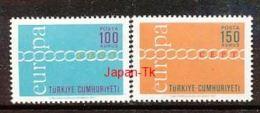 TÜRKEI Mi.Nr.  2210-2211 Europa  - 1971- MNH - Europa-CEPT