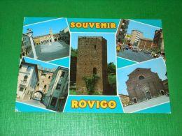 Cartolina Souvenir Di Rovigo - Vedute Diverse 1993 - Rovigo