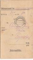 Dokument Zahlungsauftrag Steueramt GÄNSERNDORF 1934 - Historische Dokumente