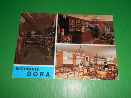 Cartolina Pont Saint Martin - Albergo Ristorante Dora 1970 Ca - Unclassified