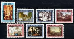GUINEE-BISSAU 1989, PHILEXFRANCE, Déclaration Droits De L'Homme, 7 Valeurs, Oblitérés / Used. R159 - Révolution Française