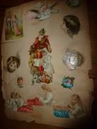Année 1889 : Page De Chromos Découpis - Découpis
