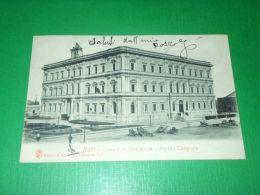 Cartolina Bari - Camera Di Commercio - Posta E Telegrafo 1900 - Bari