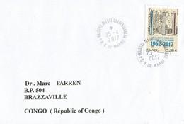 France 2017 Maisons Alfort Charentonneau Algeria Memorial Cover - Brieven En Documenten