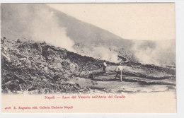 Napoli - Lave Del Vesuvio Nell'Atrio Del Cavallo - Animata     (A-40-110109) - Napoli (Naples)