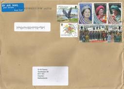 Guernsey Alderney 2017 Jackdaw (Corvus Monedula) Crow Queen Mother Cover - Guernsey