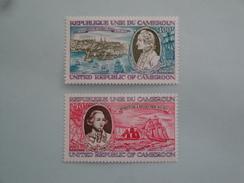 1978  Cameroun Yvert  PA 285/6  **  Bateaux Ships  Scott C 271/2  Michel 883/4  SG Xxx James Cook - Cameroun (1960-...)