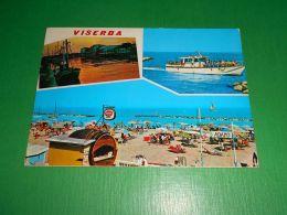 Cartolina Viserba - Vedute Diverse 1972 - Rimini