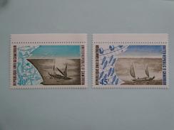 1975  Cameroun Yvert  587/8  **  Bateaux De Pêche Fishing Ships  Scott 602/3  Michel 797/8  SG Xxx - Cameroun (1960-...)