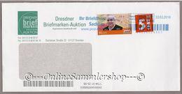 PostModern - Umschlag - Marke: Dresdner Auktion - Privados & Locales