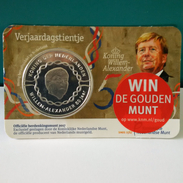 """Pièce 10 Euros Coincard Pays Bas 2017   """"  50 Ans Du Roi  """" - Nederland"""