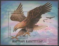 Kyrgyzstan 1995. Animals / Birds Sheet MNH (**) - Oiseaux