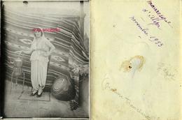 1933-Alger- Jeanne TRANCHANT En Costume Mauresque-Garot Mentionné - Personnes Identifiées