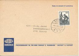 Denmark Cover Aarhus 4-1-1977 Single Franked - Denmark