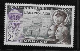MONACO, 1953   SCOTT # 303, PHYSALIA & LABORATORY SHIP HIRONDELLE 11   MNH - Monaco