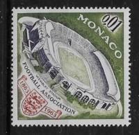 MONACO, 1963   SCOTT # 553, WEMBLEY STADIUM & BRITISH FOOTBALL ASSOCIATION EMBLEM  MNH - Monaco