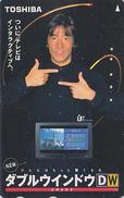 Rare Télécarte Japon  / 110-011 - CHATEAU NEUSCHWANSTEIN / Pub TOSHIBA TV - CASTLE GERMANY Japan Phonecard - Site 54 - Japan